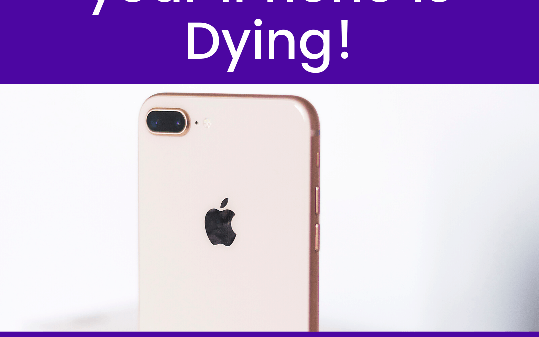 10 Ways to Tell if your iPhone is Dying!